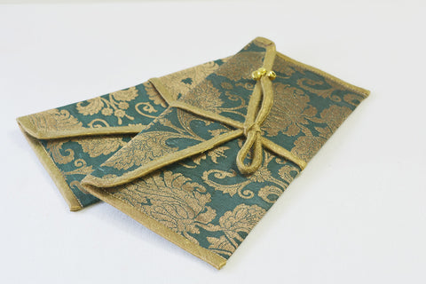 Silk Brocade Gift Envelopes, Set of 2