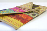 Vintage Kantha Silk Gift Envelopes, Set of 2