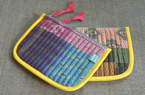 Set of 2, Kantha Make-Up Pouch