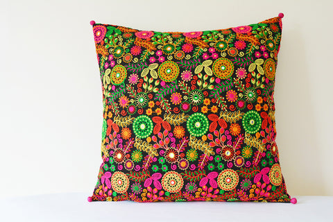 Spring Garden Pillow Cover