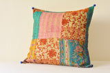 Multi Patchwork Vintage Kantha Cushion Cover