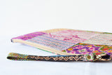 2 Sided Kantha Purse/Sleeve with Wrist Loop
