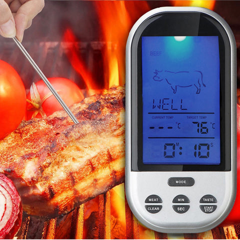 Wireless Meat Braai Kitchen Food Thermometer - GalaxyDeals