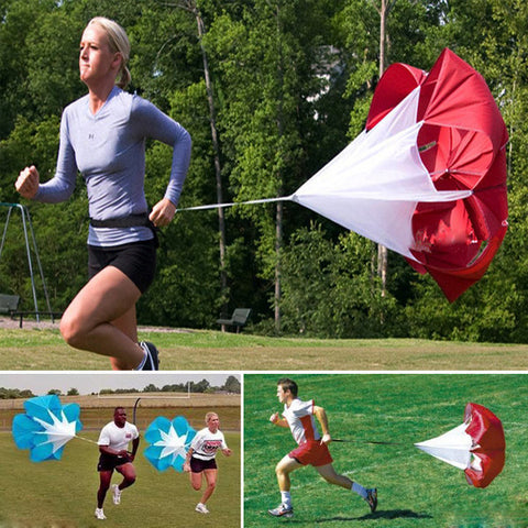 *LOCAL STOCK* 56inch Stamina Training Resistance Running Parachute