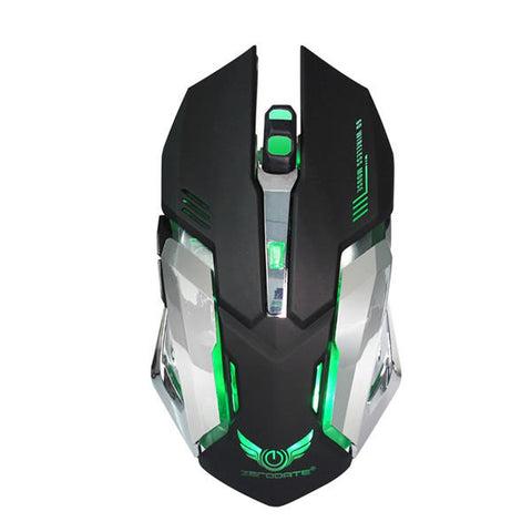 Zerodate Rechargeable Wireless Gaming Mouse - GalaxyDeals