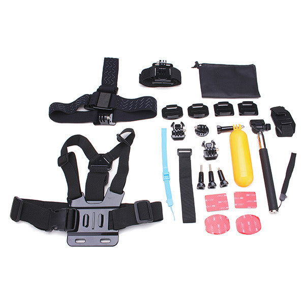 23 In 1 Gopro Action Camera Accessories Set - GalaxyDeals