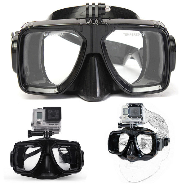 Gopro Snorkeling Diving Goggles Mask - GalaxyDeals