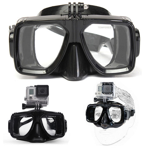 *LOCAL STOCK* Snorkeling Goggles Diving Mask For Gopro Camera