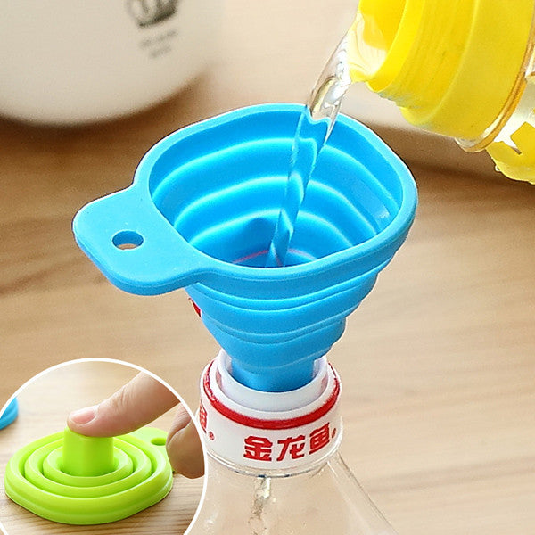 Silicone Collapsible Mini Filling Kitchen Funnel - GalaxyDeals