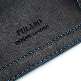 PULABO Black Leather Wallet - GalaxyDeals