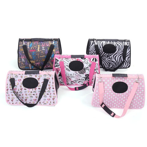 *LOCAL STOCK* Pet Carrier Dog Cat Folding Carry Bag