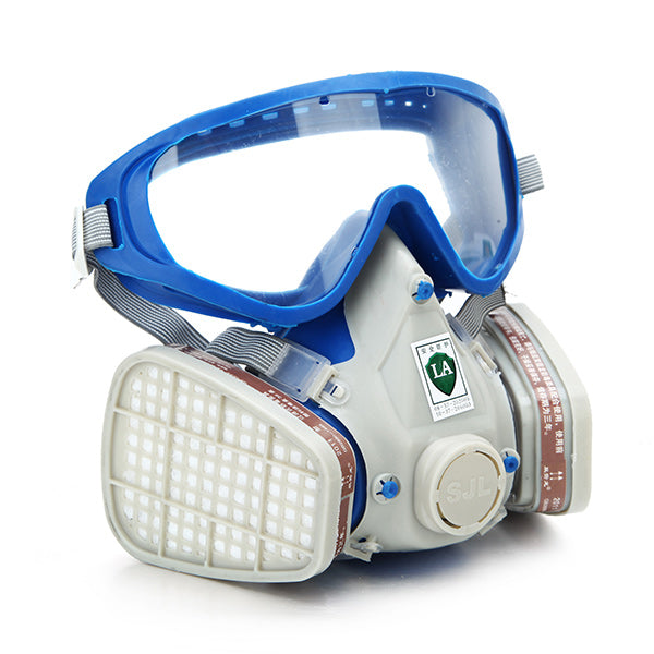 Respirator Gas Paint Chemical Face Mask Goggles - GalaxyDeals