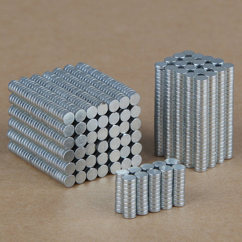 100PCS 3mm x 1mm Round Rare Earth Neodymium N35 Magnets - GalaxyDeals