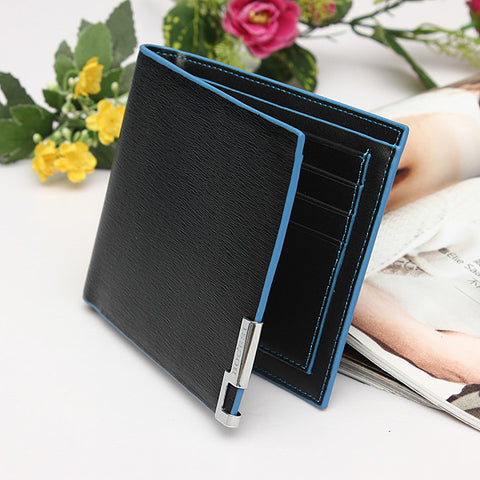 *LOCAL STOCK* PULABO South Korea's Edition Black Leather Wallet