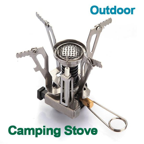 Outdoor Portable Mini Camping Gas Stove - GalaxyDeals