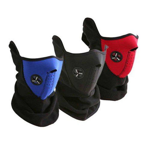 *LOCAL STOCK* Motorcycle Bike Breathable Face Mask
