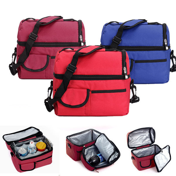Picnic Lunch Cooler Bag - GalaxyDeals