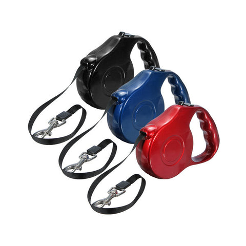 *LOCAL STOCK* 5M Nylon Retractable Extendable Pet Leash