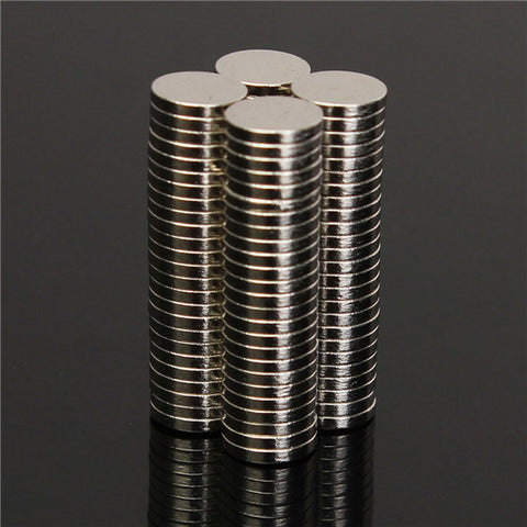 100pcs N52 6x1mm Disc Neodymium Rare Earth Magnets