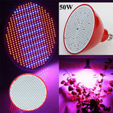 50W E27 LED Plant Grow Light Bulb - GalaxyDeals