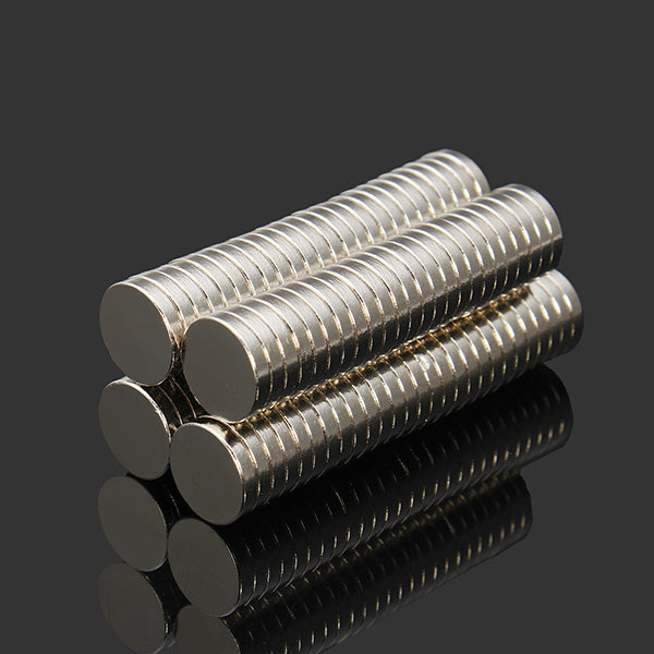 100pcs 10mm x 2mm N52 Rare Earth Neodymium Magnets - GalaxyDeals