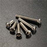 120pcs M3 Stainless Steel Button Head Screw Set - GalaxyDeals