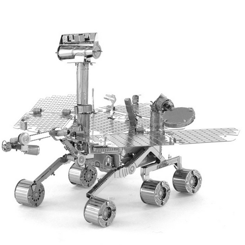 Aipin DIY Mars Rover Puzzle Stainless Steel Model - GalaxyDeals