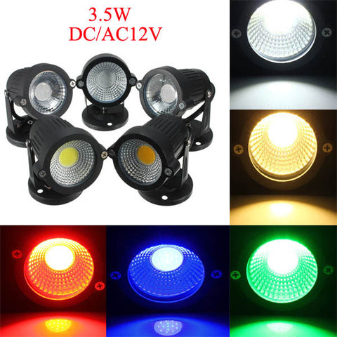 *LOCAL STOCK* 12V 3.5W Garden Outdoor Spotlight Waterproof Flood Lamp
