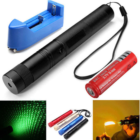 Green Burning Laser Pointer