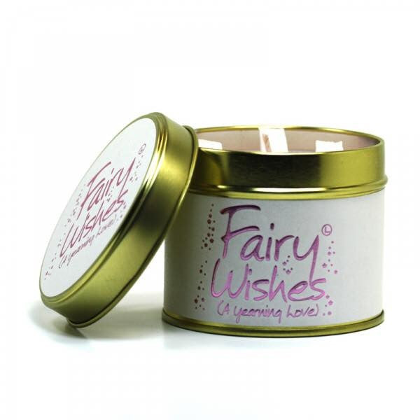 Lily-Flame Fairy Wishes Scented Candle