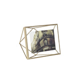 Prisma photo display 15 x 20 cm matte brass