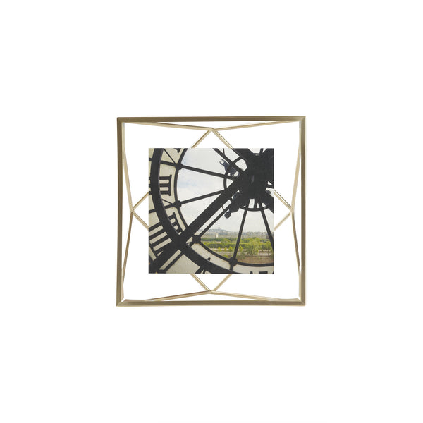 Prisma photo display 4x4 Matte Brass