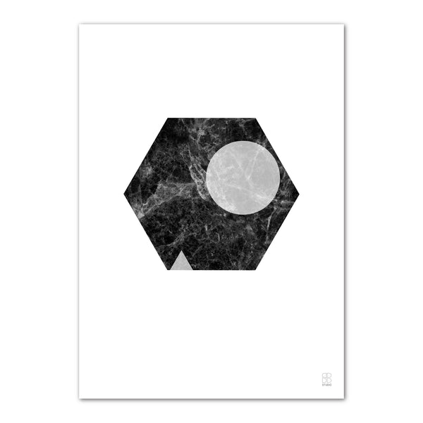 Marble Marvel 09, A3 print