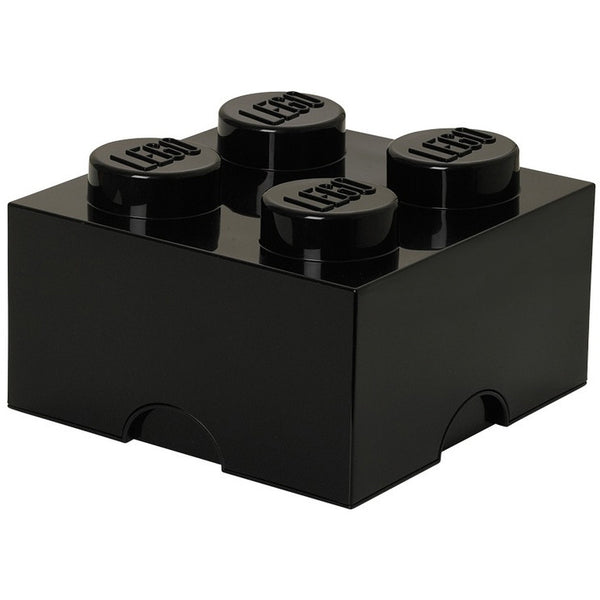 Lego storage box black 4