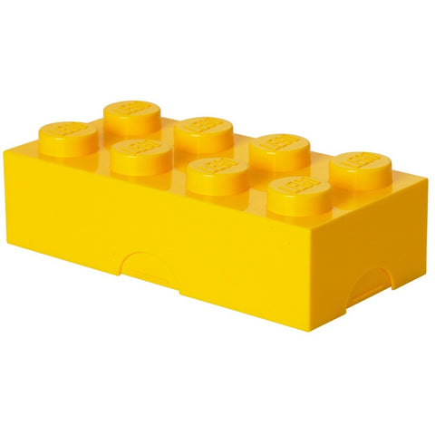 Lego lunchbox yellow