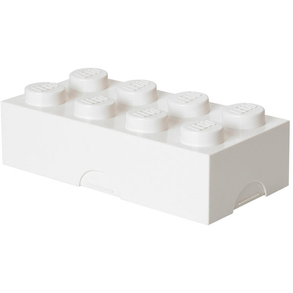 Lego lunchbox white