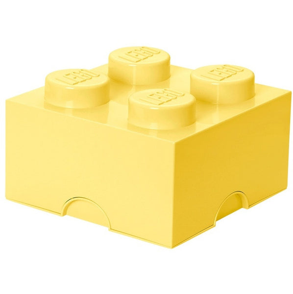 Lego storage box yellow 4