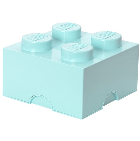Lego storage box blue 4