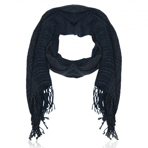 Perfect basic Scarf Dark Blue