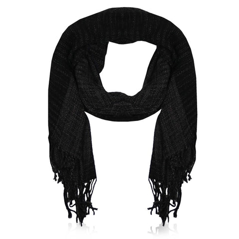 Perfect basic Scarf Black