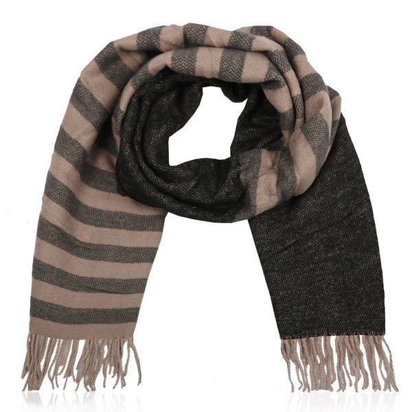 Striped Scarf Petrol