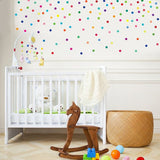Dot Wall Stickers Multicolor