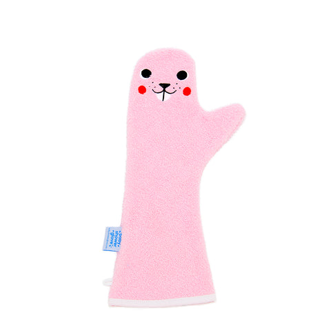 Baby Shower Glove Beaver Pink