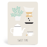 Sweet Time Postcard