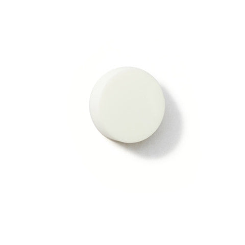 Brooch Dot reflecting white