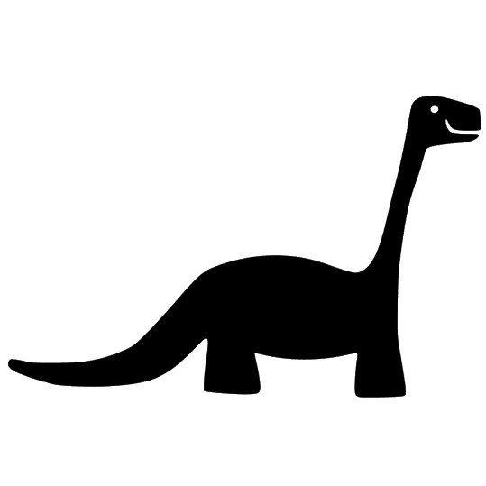 Iron-on Application Dinosaur