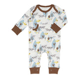 Pyjamas Fox blue
