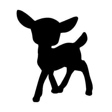 Iron-on Application Deer