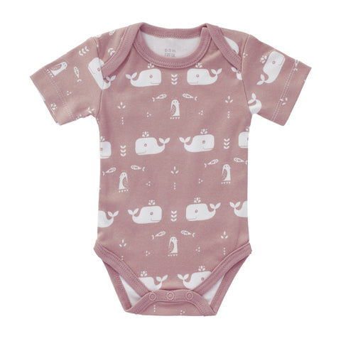 Body short sleeve Whale pink