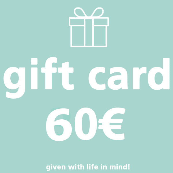 Copy of Gift Card 60€